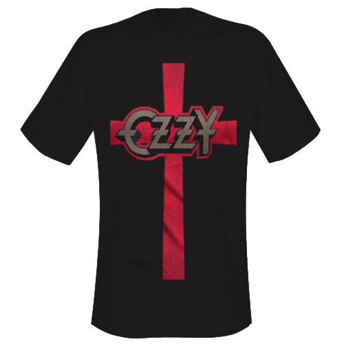 Ozzy Osbourne - T-Shirt Cross (in S)