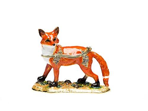 Schmuckschatulle Fuchs Pillendose Schmuckdose Dose Pillenbox jewelry fox