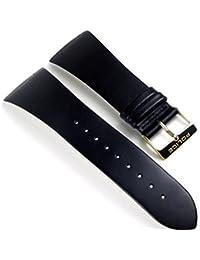 Police Skyline Ersatzband Uhrenarmband Leder Band schwarz für PL10849MSG-04