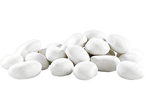 Carlo Milano - Piedras decorativas blancas para rociar con bioetanol y hacer...
