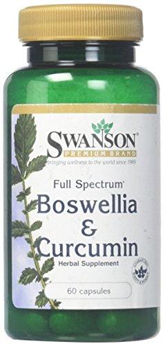 Swanson Full Spectrum Boswellia & Curcumin, 60 Capsules