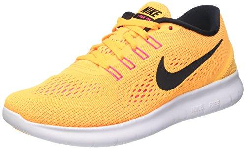 Nike Free Rn, Scarpe Running Donna, Turchese (Gamma Blue/Pink Blast/Photo Blue/Black), 40 EU