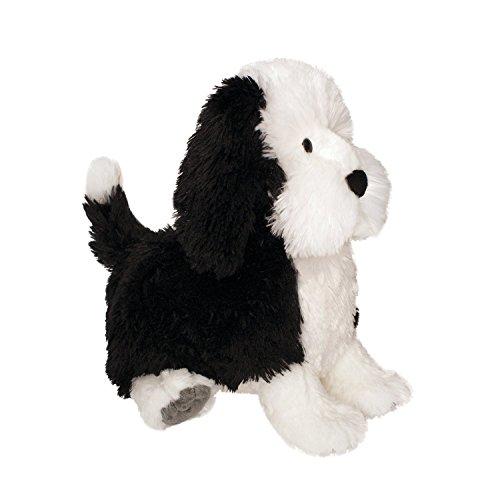 Puppy Playtime Chiot Jeu Cock-a-Doodle Jouet Chiot par Manhattan Doux (Noir/Blanc)