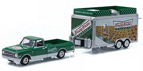 1968-chevrolet-c10-pick-up-greenlight-32040b-mit-krispy-kreme-food-truck-trailer-164-die-cast