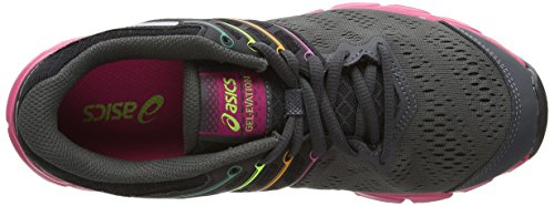 ASICS Gel-Evation, Chaussures Multisport Outdoor Femmes Marron (Flash Green/Onyx/Silver 8599)