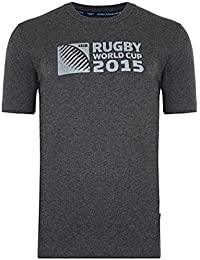 Coupe du Monde de Rugby 2015 - T-Shirt Officiel - Logo RWC2015 - Gris