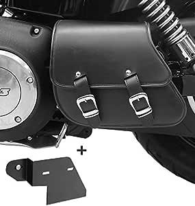 Schwingentasche Halter Für Harley Dyna Fat Bob 08 17 Auto