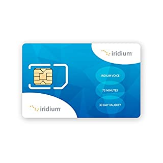 Iridium Satellite Phone Globale Prepaid-SIM-Karte mit 75 Minuten (30-Tage-Gültigkeit)