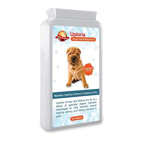 UTI With Urinary And Kidney Daily Support For Cats & Dogs 120 Tablets | Scientifically Formulated With Natural Ingredients With Antioxidant-Rich Cranberries | Best Feline Urinary Tract Supplement