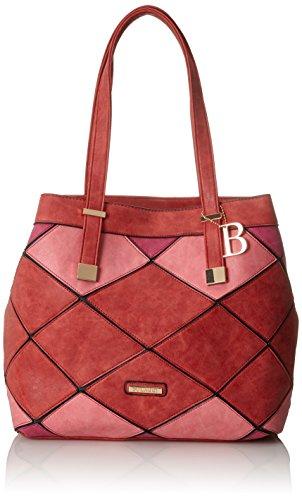 Bulaggi Damen Gear Shopper Tote, 14x32x33 cm Rot (Rot)