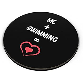 PosterGuy Fridge Magnet - Me and Swimming Equals Love | Designed by: PosterGuy