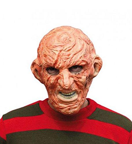 Scary Zombie bruciato uomo spettrale Maschera Halloween accessori (bm374)