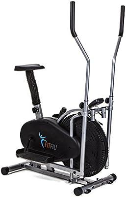 Fitfiu ORB2000S - Bicicleta elíptica estática, color negro