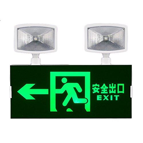 Schule einkaufszentrum notbeleuchtung LED sicherheit exit-anzeige licht, evakuierung richtung der pfeil lichter ( Farbe : C )