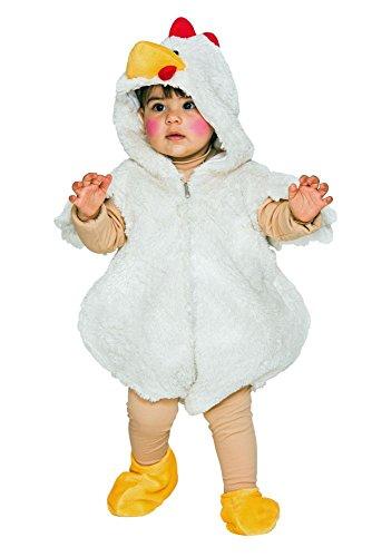 Kinder Kostüm Huhn Overall Karneval Fasching Gr.86/92