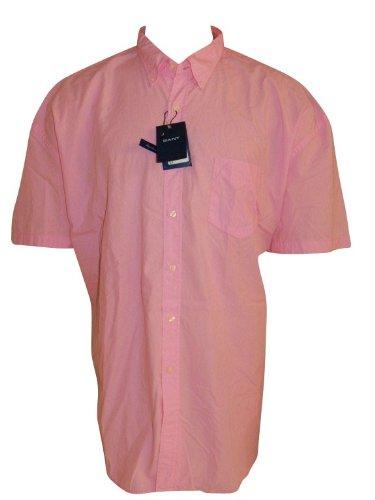 GANT -  Camicia classiche  - Maniche corte  - Uomo rosa rosa S