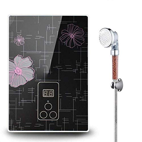 JIAJU 4500WSofortiger Water Heater,LCD Tankless Elektrischer Durchlauferhitzer Verwendet für Badezimmer Küche Intelligente Dusche Heizung - 220 Elektro-durchlauferhitzer