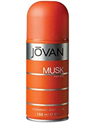 Jovan Musk Body Spray for Him, 150ml