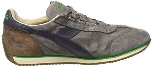 Diadora Equipe S. SW, Chaussures de Gymnastique Mixte Adulte, Bl Night Blue/Bossa Grigio (Frost Gry/Bl Nights/Fern Green)