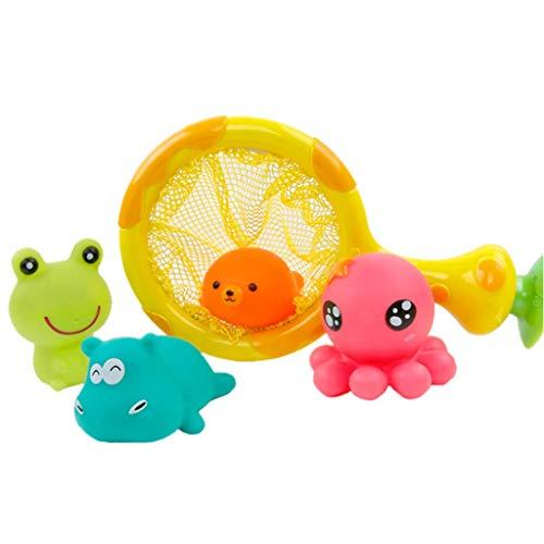 Schwimmen wasserspray Wasser Spielzeug Sommer Baby dusche Set streuen Cartoon niedlichen Schwimmen Spielzeug Junge mädchen (6 stück Anzug) ()