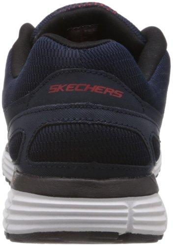 Skechers AgilityVictory Won, Baskets mode homme Bleu (Nvw)