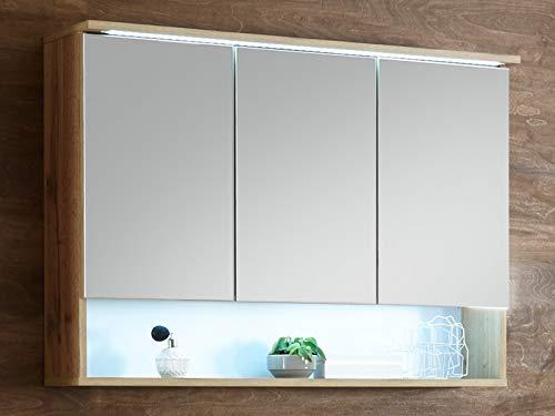 Spiegelschrank Badschrank Hängeschrank Spiegel Badmöbel Wandschrank Bella I