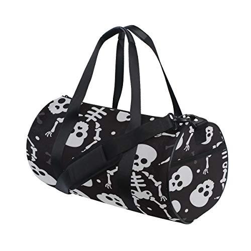 m Leichte Große Yoga Gym Totes Handtasche Reise Canvas Seesäcke Mit Schulter Crossbody Fitness Sport Gepäck Für Mädchen Männer Frauen ()