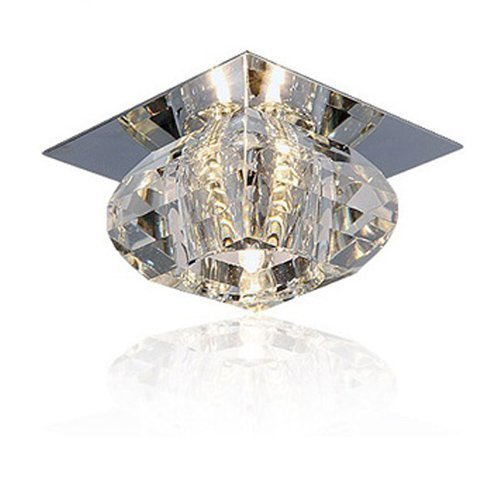LightInTheBox Style mini Montage du flux Plafonniers Cristal de luxe lampe de plafond Salle à manger lampe en cristal