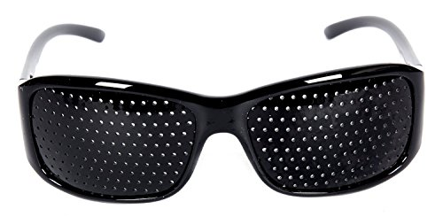 FreshGadgetz 1 Ensemble de Unisex soin de la vue améliore sténopé yeux lunettes exercé lunettes