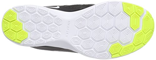 Nike Wmns Flex Trainer 5 Print, Scarpe sportive, Donna Black/White-Crg Khaki-Wlf Gry