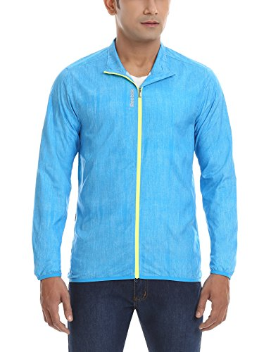Reebok Men's Synthetic Track Jackets (4054714871629_B88922_M_Blue)  available at amazon for Rs.2399