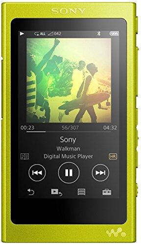 Sony NW-A35 High-Resolution Walkman (16GB, Bluetooth, NFC, bis zu 45 Stunden Laufzeit, DSEE HX Upscale, LDAC) Gelb - Proprietäre Modul