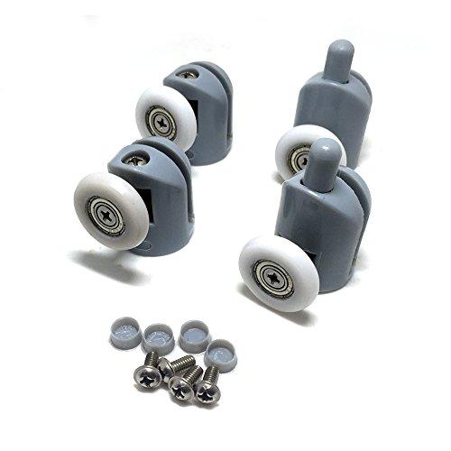 41NO2uJfcWL - Rodamientos para mampara de ducha, 8 unidades, piezas de repuesto de 25mm de diámetro