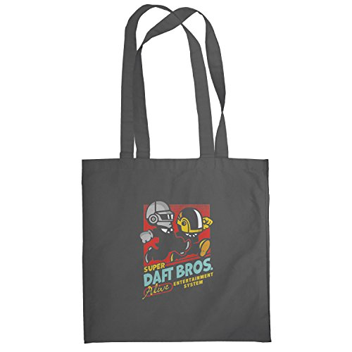Texlab–Super Daft Boys–sacchetto di stoffa Grau