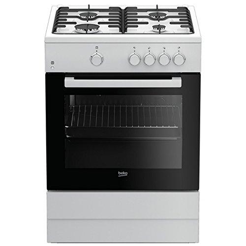 Beko FSG62000DWL - Cocina (Cocina independiente, Negro, Blanco, Girato