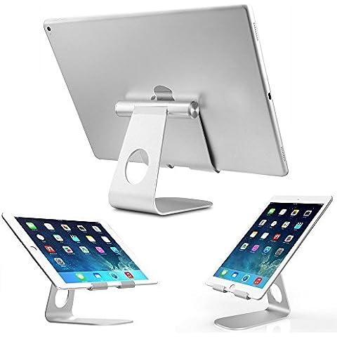 Pasonomi® Multi-Ángulo Aluminio Soporte para Tablets, E-readers y Teléfonos, Apple iPad Pro, iPad Air/Mini, iPhone 7/ 6, Samsung Galaxy S7/S6/S5, Samsung Galaxy Tab, Kindle