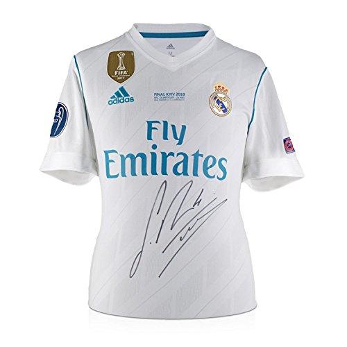 Camiseta fútbol firmada - Real Madrid - Sergio Ramos - Final Champion
