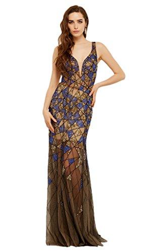 ivyd ressing alta qualità sulla situazione Party Festa Prom abito ball vestito da sera vestito da donna M