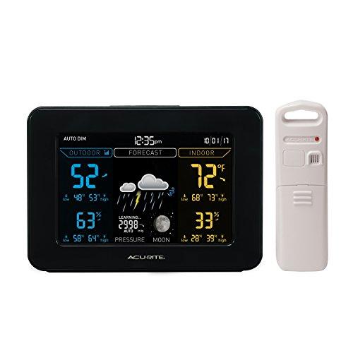 AcuRite 02027A1Farbe Wetterstation mit Vorhersage/Temperatur/Luftfeuchtigkeit - Acu-rite Wireless Thermometer