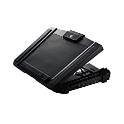 CM Storm SF-17 - Gaming Laptop Cooling Pad with 180 mm Fan and 4 Ergonomic Height Settings