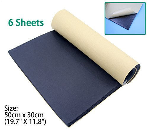 sundely-sound-proofing-deadening-vehicle-insulation-closed-cell-foam-sheet-with-adhesive-backing-50c