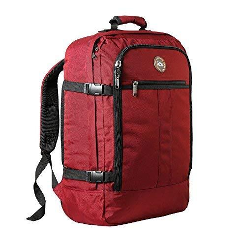 Cabin Max Metz Zainetto bagaglio a mano/da cabina, 44 litri, dimensioni approvate 55x40x20 cm su voli IATA (Ossido Rosso)