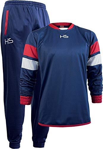 HS - Tuta Sportiva Passion, Felpa e Pantalone Lungo, per Uomo e Donna