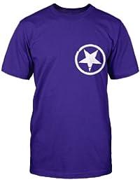 Black Market Gothic T-Shirt - Purple / White