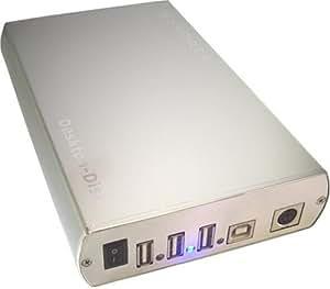 Storex Desktop-Disk NN351 Disque Dur Externe + Hub 3 Ports 200 Go CD04823