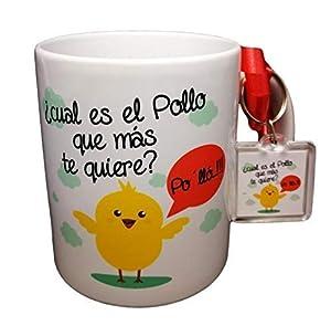 Taza Y Llavero con Frase