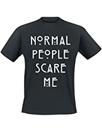 American Horror Story Normal People T-Shirt nero