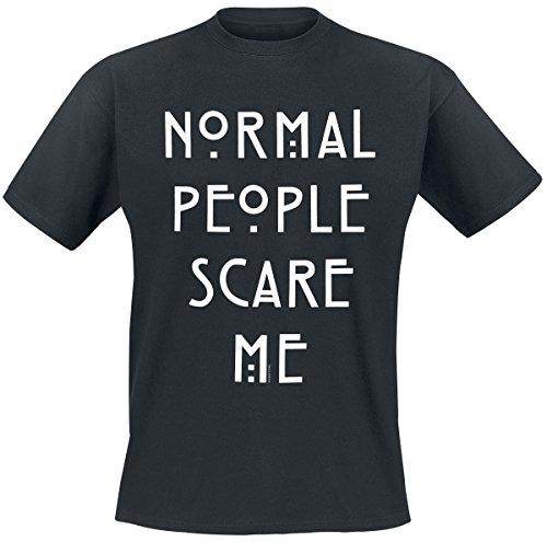 American Horror Story Normal People T-Shirt Schwarz Schwarz