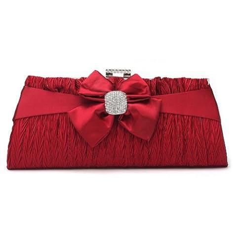Damara , Pochette pour femme Rouge Rouge
