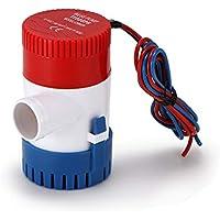 Bomba de agua marina no automática 1100GPH Bomba de agua sumergible 12V eléctrico
